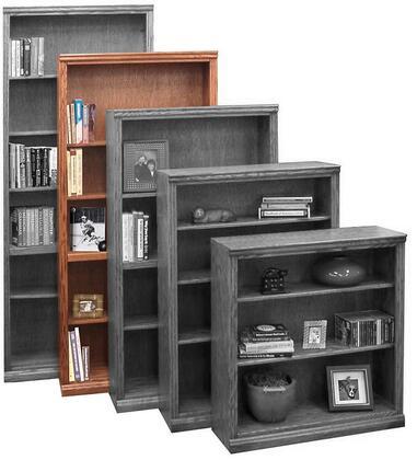 Legends Furniture TT6672GDO Traditional Series Wood 5 Shelves Bookcase