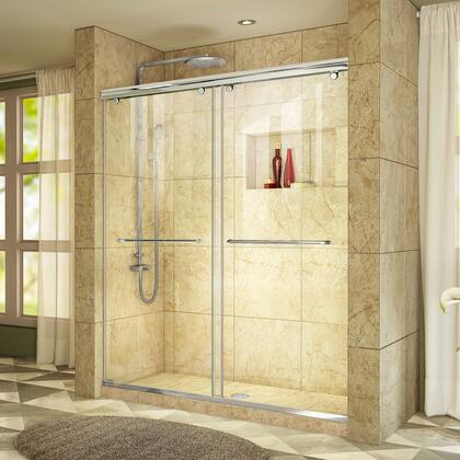 DreamLine Charisma Shower Door RS39 60 01 Tiled Center Drain E