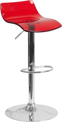 Flash Furniture CH88005REDGG Residential Not Upholstered Bar Stool