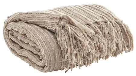 "Milo Italia Elliot T1101643PTM Set of Three 50"" x 60"" Decorative Throws with Fringe Details and Made of Acrylic in"