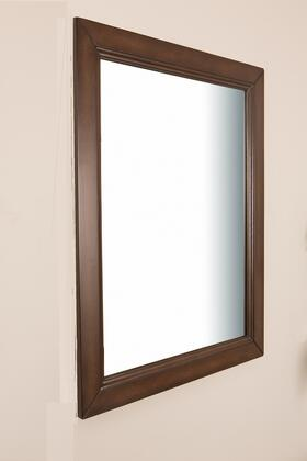 Bellaterra Home 7610MSW  Rectangular Portrait Bathroom Mirror