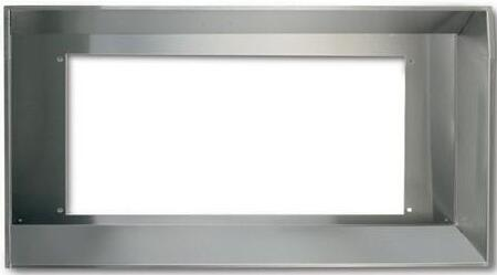 Best L Custom Hood Liner With Optional Ambient Light Panel: Stainless Steel
