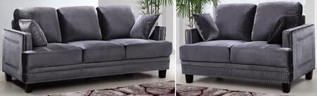 Meridian 655GRYSL Ferrara Living Room Sets