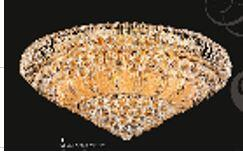 """J & P Crystal Lighting Corona Collection SP81076F-25 25"""" Wide Chandelier in X Finish"""