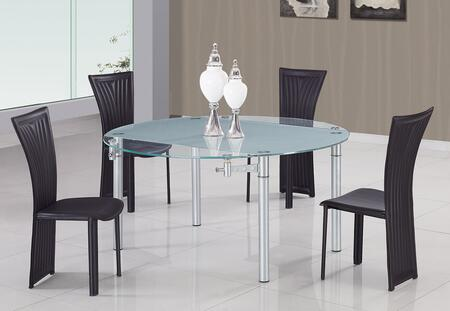 Global Furniture USA 135BL5pc Global Furniture USA Dining Ro