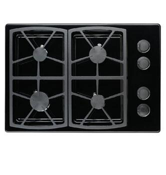 Dacor SGM304BLP Classic Series Liquid Propane Sealed Burner Style Cooktop, in Black