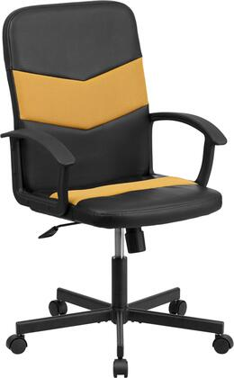 "Flash Furniture CPB301C01BKORGG 23.75"" Adjustable Contemporary Office Chair"