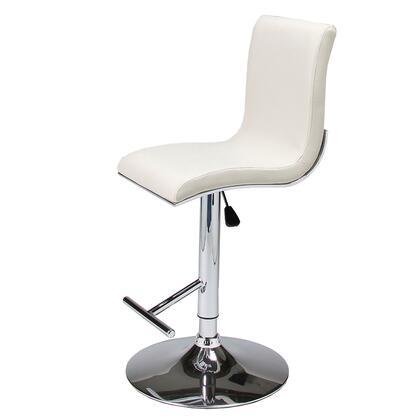 Pastel Furniture QLIU219279 Iannucci Hydraulic Swivel Barstool
