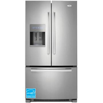 Whirlpool GI6FARXXF  French Door Refrigerator with 25.5 cu. ft. Total Capacity Glass Shelves