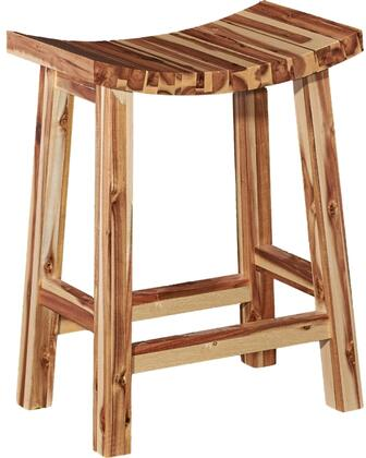 Powell D1020B16CS Dale Series Residential Not Upholstered Bar Stool