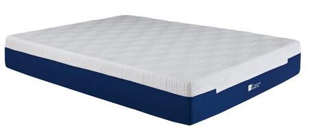 """Rest Rite IMGELL5009 Lane Contour Lux III Memory Foam Gel Flex 9"""" Mattress White and Blue Memory Foam and Gel Memory Foam"""