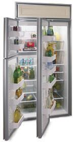 Northland 363DWP  Counter Depth Side by Side Refrigerator with 22.8 cu. ft. Capacity in Panel Ready