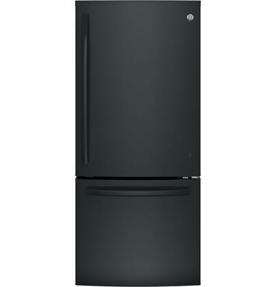 Bottom-Freezer Refrigerator in Black