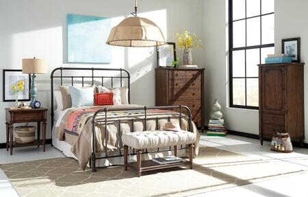 Broyhill 4800QMBNCLCUB Cranford Queen Bedroom Sets