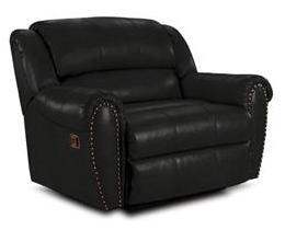 Lane Furniture 21414174597513 Summerlin Series Transitional Leather Wood Frame  Recliners