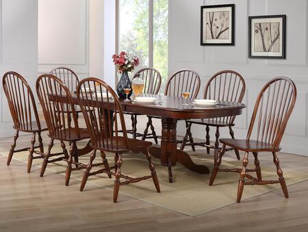 Sunset Trading DLUADW4296C30CT9PC Andrews Dining Room Sets