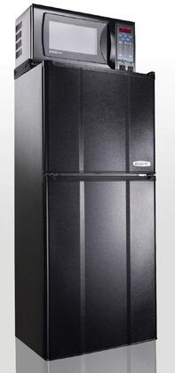"MicroFridge 48MF7TP 19"" Compact Refrigerator with 4.8 cu.ft. Capacity in Black"