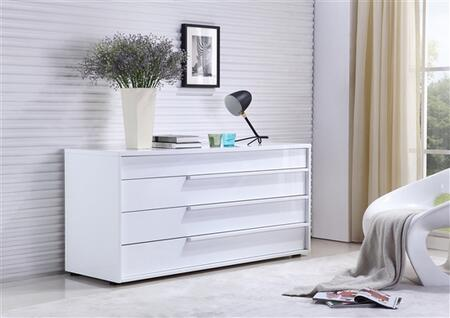 Casabianca TC0210DWH Dolce Series Wood Dresser
