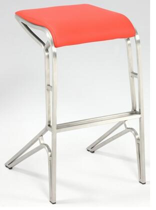 Chintaly 0568BSRED  Bar Stool