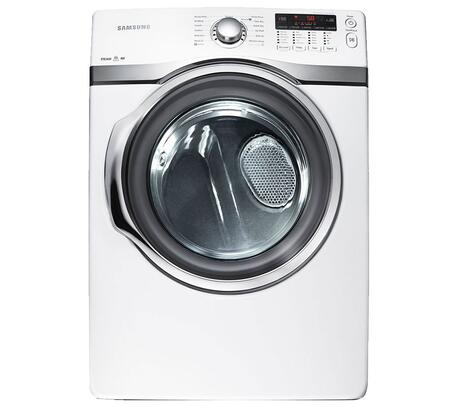 "Samsung Appliance DV405ETPAWR Front Load Electric 7.4 cu. ft. Capacity Yes 27"" Digital and Knobs No Standard Dryer 