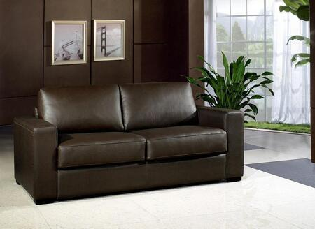 VIG Furniture VG2T0582  Pull-Out Bonded Leather Sofa