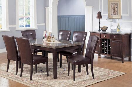 Acme Furniture 07058chs Danville Dining Room Sets Appliances