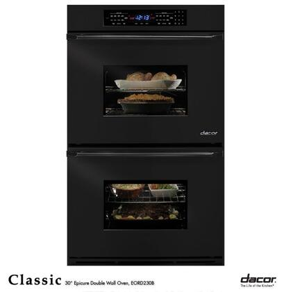 "Dacor EORS230B 30"" Double Wall Oven, in Black"