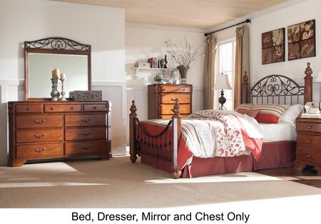 Signature Design by Ashley B4293136150719846 Wyatt Queen Bed