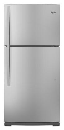 Whirlpool WRT359SFYF Freestanding Top Freezer Refrigerator with 18.9 cu. ft. Total Capacity 2 Glass Shelves 5.3 cu. ft. Freezer Capacity