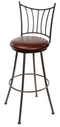 Stone County Ironworks 902766WOODOAK Ranch Series  Bar Stool