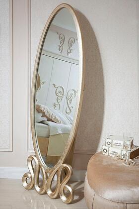 VIG Furniture VGWC19PA001  Rectangular Portrait Dresser Mirror