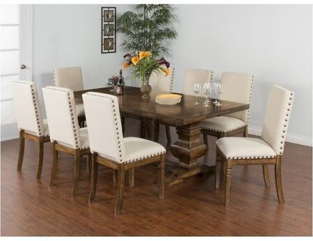 Sunny Designs 1396BMDT8C Cornerstone Dining Room Sets