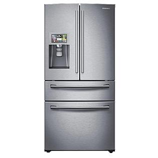 Samsung Appliance RF28HMELBSR  French Door Refrigerator with 28 cu. ft. Capacity