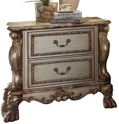 Acme Furniture 23163 Dresden Series Rectangular Wood Night Stand