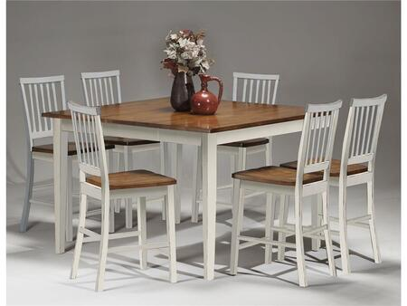 Intercon Furniture ARTA5454GWHJ6S Arlington Dining Room Sets