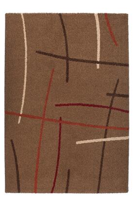 Citak Rugs 6483-070X Studio Collection - Sketch - Brown