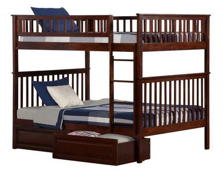 Atlantic Furniture AB56524  Full Size Bunk Bed