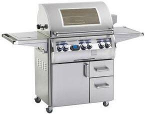 FireMagic E660SME1N62W Freestanding Natural Gas Grill