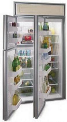 Northland 363DWSR  Counter Depth Side by Side Refrigerator with 22.8 cu. ft. Capacity in Stainless Steel