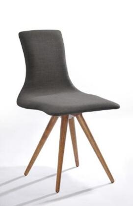 VIG Furniture VGMAMI363ESP Modrest Tracer Series Modern Fabric Veneers Frame Dining Room Chair