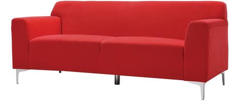 Glory Furniture G330S  Stationary Velvet Sofa