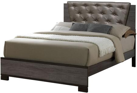 Furniture of America CM7867EKBED Manvel Series  King Size Bed