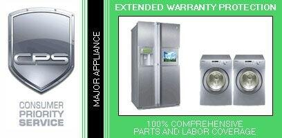 Consumer Protection Service CPSLGAP3xC 3 Year Warranty on Major Appliance for Commercial Products