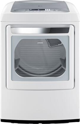 "LG DLEY1201W 27"" 7.3 cu. ft. Electric Dryer, in White"