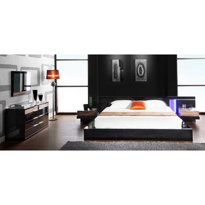 VIG Furniture ALASKAKINGSET 5 Piece Bedroom Set