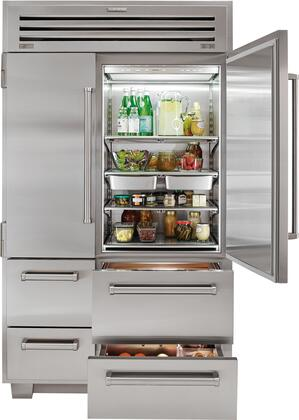 Delicieux ... Sub Zero Refrigerator And Bottom Drawers View ...