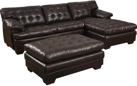 Acme Furniture 50770 Nigel Series Stationary Bonded Leather Sofa