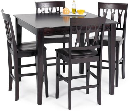 New Classic Home Furnishings 040605012SET Abbie Dining Room