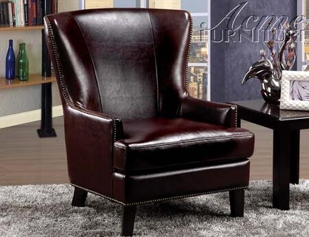 Acme Furniture 59058 Siko Series Accent Chair Leather Accent Chair