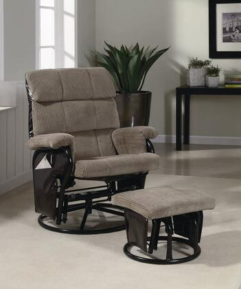Coaster 600262 Casual Wood Frame  Recliners